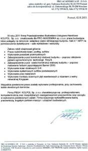 Referencje ProAcadem